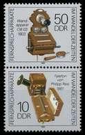 DDR ZUSAMMENDRUCK Nr SZd364 Postfrisch SENKR PAAR SB5A07E - DDR