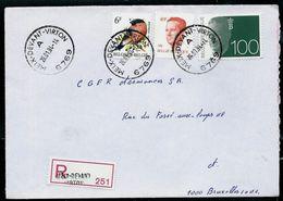 Doc. De MEIX - DEVANT - VIRTON - A - ( 6769 ) Du 26/01/94 En Rec. ( E) - Marcophilie