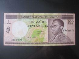 Congo Democratic Republic 1 Zaire=100 Makuta 1970 Banknote - Democratische Republiek Congo & Zaire