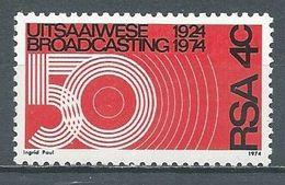 Afrique Du Sud YT N°357 Radiodiffusion Neuf ** - South Africa (1961-...)