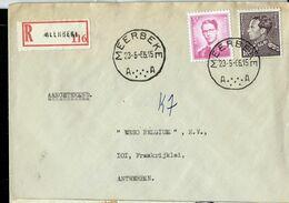 Doc. De MEERBEKE - A A - Du 23/05/66 En Rec. ( E) - Postmark Collection
