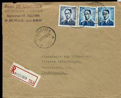 Doc. De MASSEMEN - A A - Du 10/11/66 En Rec. ( E) - Postmark Collection