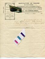 HERMALLE SOUS ARGENTEAU / MANUFACTURE PANIERS / NASSES POISSONS / 1926 / BASSE MEUSE - Sammlungen