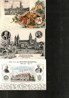 LOT DE 3 CPA ALLEMAGNE 1903, 1905, 1911 - CONGRES DES CATHOLIQUES ALLEMANDS - - 5 - 99 Cartes