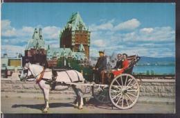 C. Postale - Calèche - Quebec - 1962 - Non Circulee - A1RR2 - Québec - La Cité