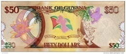 GUYANA P. 41 50 D 2016 UNC - Guyana