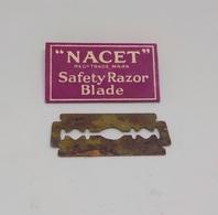 Cx A) NACET Safety Razor BLADE - Rasierklingen