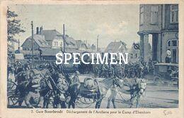 2 Gare - Déchargement De L'Artillerie Pour Le Camp De Elsenborn - Sourbrodt - Waimes - Weismes