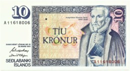 Iceland - 10 Krónur - Unc. - L. 1961 ( Sign. 42 - 1981/1984 ) - Pick: 48 - Serie A - Islande