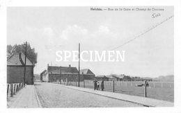 Rue De La Gare Et Champ De Courses - Helchin - Spiere-Helkijn - Espierres-Helchin - Spiere-Helkijn