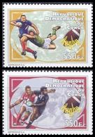 République Démocratique Du Congo - 2709/2710 - Sport - Rugby - 2012 - MNH - Democratic Republic Of Congo (1997 - ...)