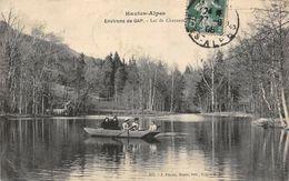 France Hautes Alpes Environs De Gap Lac De Charance Lake Boat Bateau - Frankreich