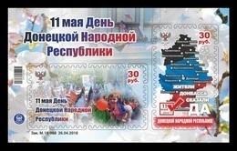 Ukraine (Donetsk) 2018 #106/07 (Bl.14) Day Of Donetsk People's Republic MNH ** - Ukraine
