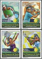 République Démocratique Du Congo - 2711/2714 - Sports - Tennis - 2012 - MNH - Democratic Republic Of Congo (1997 - ...)