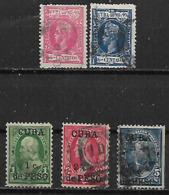 1898-8 Cuba 5v - Oblitérés