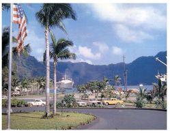 (F 4) US Samoa - Pago Pago With Cruise Ship / Paquebot + Hotel - Samoa Americana