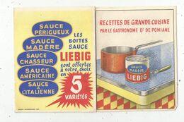 Publicité , 6 Pages , Les Boites Sauce LIEBIG , 2 Scans - Werbung