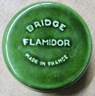 CENDRIER BRIDGE FLAMIDOR MADE IN FRANCE ( VERT ) - Sonstige