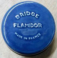 CENDRIER BRIDGE FLAMIDOR MADE IN FRANCE ( BLEU ) - Sonstige