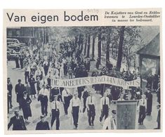 Orig. Knipsel Coupure Tijdschrift Magazine - De Kajotters Van Gent & Eeklo Op Bedevaart Te Oostakker Lourdes - 1939 - Zonder Classificatie