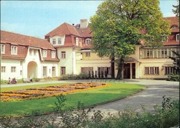 Ansichtskarte Neu Fahrland-Potsdam Kliniksanatorium Heinrich Heine 1980 - Neu Fahrland