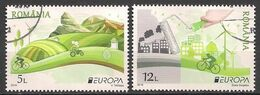 Rumänien / Romania (2016)  Mi.Nr.  7067 + 7068  Gest. / Used  (1ga27)  EUROPA - Europa-CEPT