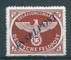 Deutsches Reich Feldpost - Michel 10 Pfr.**/MNH - Allemagne