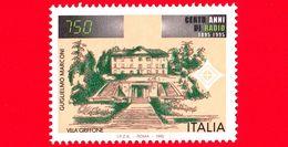 Nuovo - MNH - ITALIA - 1995 - Centenario Della Radio - 5ª Emissione - Villa Griffone - 750 - 1991-00: Mint/hinged