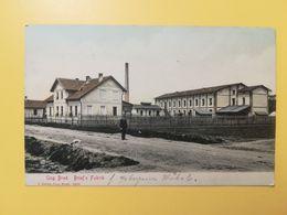 CARTOLINA POSTCARDS AUSTRIA OSTERREICH 1907 ANG. BROD BRIEF' S FABRIK BOLLO IMPERATORE FRANCESCO GIUSEPPE OBLITERE' - Other