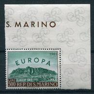 San Marino - Michel 700 Pfr.** Falz Auf Oberrand - Europa-CEPT