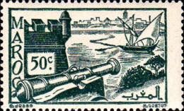 Maroc (Prot.Fr) Poste N** Yv:226 Mi:217 Salé Fort Des Oudaïas - Maroc (1891-1956)