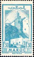 Maroc (Prot.Fr) Poste N** Yv:228A Mi:220 Sefrou Mosquée (Petit Pt De Rouille) - Maroc (1891-1956)
