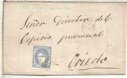 OVIEDO ASTURIAS 1871 MATRONA - 1868-70 Gobierno Provisional