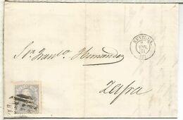 SEVILLA A ZAFRA  1871 MATRONA - 1868-70 Gobierno Provisional