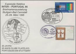 INTER-PORTUGAL 95 Stuttgart - Bad Cannstatt Erdkugel Entdeckungen, SSt 25.3.95 - [7] République Fédérale