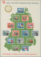 Block 19 Jubiläum 15 Jahre DDR 1964, Ungezähnt ** Wie Verausgabt Ohne Gummi - [6] Democratic Republic