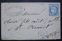 L' Isle-sur-la-Sorgue 1873 Bernard Fils (Vaucluse) GC 1840 Pour Saint-Bonnet-en-Champsaur Hautes Alpes - 1849-1876: Période Classique