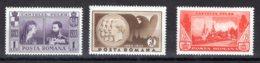 Romania / Rumänien  Michel #  462 - 64 ** - 1918-1948 Ferdinand, Carol II. & Mihai I.