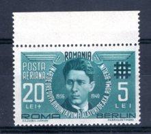 Romania / Rumänien  Michel #  681 ** - 1918-1948 Ferdinand, Carol II. & Mihai I.
