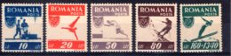 Romania / Rumänien  Michel #  1000 - 04 **    Abart # 1000 - 1918-1948 Ferdinand, Carol II. & Mihai I.