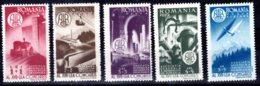 Romania / Rumänien  Michel #  1145 - 48 ** - Unused Stamps