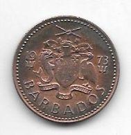 Barbados  1 Cent 1973 Km 10  Unc !!!!! - Barbados