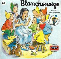 """EP 33 RPM (7"""")  Marcel Bouret / Jean Chevrier   """"  Blancheneige  """" - Vinyl Records"""