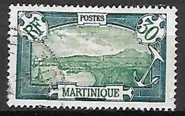 MARTINIQUE  .   1927.   Y&T N° 121 Oblitéré. - Martinique (1886-1947)