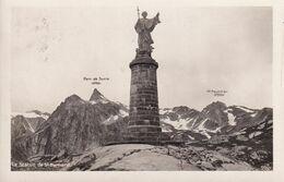 La Statue De St Bernard - VS Valais