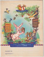 V P : Buvard : Protège  Cahier : Lapin, Lièvre  UGMA , Ami De  Loriot , Chocolat , Strasbourg  ,oiseau - Unclassified