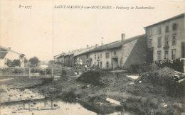 CPA 88 Vosges Saint Maurice Sur Mortagne - Faubourg De Rambervillers - France