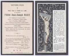 Belgique - Mortuaire : Abbé Jean-Joseph Masy, Né à Aiseau Le 4 Avril 1804, Vicaire à Gerpinnes, Curé à Thuillies, Curé à - Overlijden
