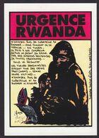CPM Rwanda Génocide France Jihel Tirage Limité Essai De Couleur Anticléricale - Rwanda