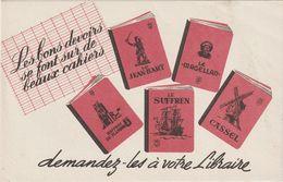 V P : Buvard :  Le  Jean  Bart, Le Magellan , Cassel , Le  Suffren, Beffroi De  Flandre , Libraire - Ohne Zuordnung